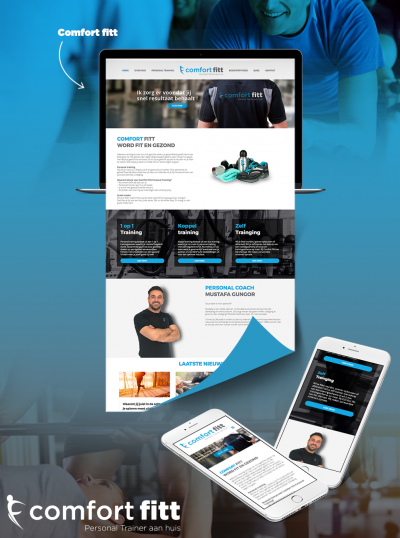 Comfort Fitt Website