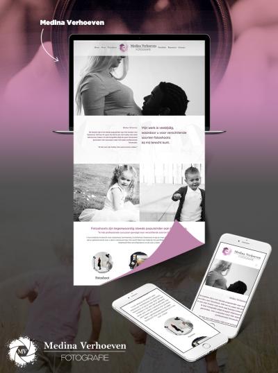 Medina Verhoeven Website