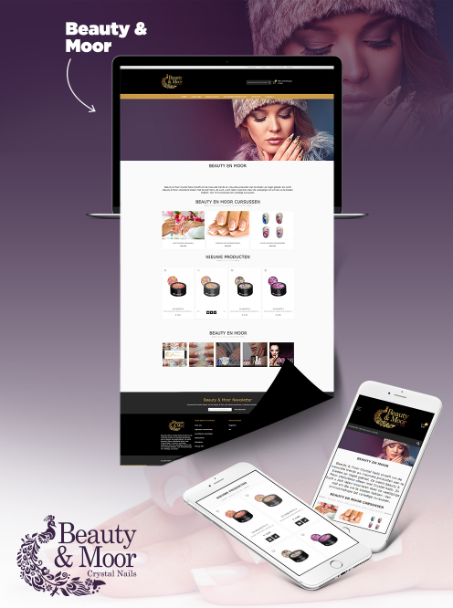 Beauty & Moor Website